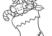 Merry Christmas Card Coloring Pages With Gift Giving Referatede Com