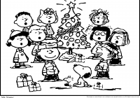 Merry Christmas Charlie Brown Coloring Pages With High Quality Refrence New
