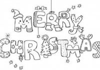 Merry Christmas Coloring Pages | Only Coloring Pages – Coloring Home – Christmas Coloring Pages Merry Christmas