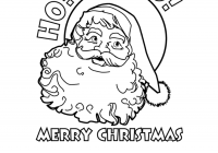 Merry Christmas Colouring In Pages With Printable Coloring HO MERRY CHRISTMAS