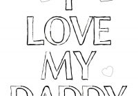 Merry Christmas Mom Coloring Pages With I Love My Dad And