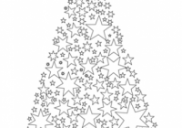 Merry Xmas Card coloring page | Free Printable Coloring Pages – Christmas Card Coloring Pages Printable