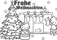 Merry Xmas Coloring Pages With Happy Christmas Download And Print For Free