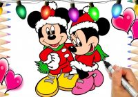 Mickey Mouse Christmas Coloring Pages | Mickey and The Roadster ..