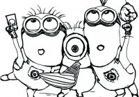Minion Christmas Coloring Pages Minions Coloring Minions Coloring ..
