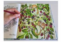 Mouse Wonderland | Daydreams Coloring Book | Coloring With Colored ..