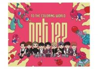 Music NCT 16- To The Coloring World NCT16 16p Coloring Paper Book ..