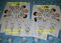 My EXO's A Day in EXOPLANET Coloring Book | MY EXO COLLECTIONS – exo coloring book