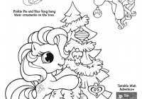 My Little Pony Coloring Page   preschool   Christmas coloring pages ..