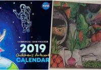 NASA 17 New Year Calendar Will Feature a Painting of 17-Year-Old ..