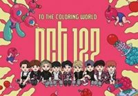 NCT 16-[To The Coloring World! NCT16] 16p Coloring Paper Book SET ..