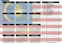 New Year Calendar 2019 With Holidays Printable Yearly Malaysia October 2018