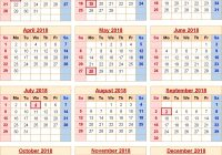 Next Year Calendar 2019 With Holidays Free Printable Templates Yearly USA