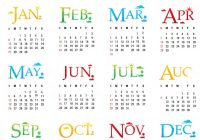 Next Year Calendar 2019 With New Pdf Free Printable 2018 Template Word