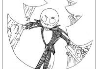 Nightmare Before Christmas Zero Coloring Pages With 40 Unique Collection Of