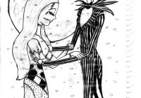 Nightmare Before Christmas Zero Coloring Pages With To Print Collection