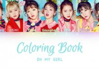 OH MY GIRL – Coloring Book (컬러링북) | Color Coded HAN/ROM/ENG ..