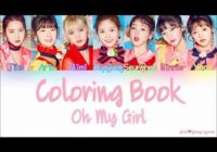 Oh My Girl (오마이걸) – Coloring Book (컬러링북) [Color Coded Lyrics ..