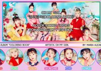 """OH MY GIRL (오마이걸) """"컬러링북 (Coloring Book)"""" [COLOR CODED] [ROM .."""