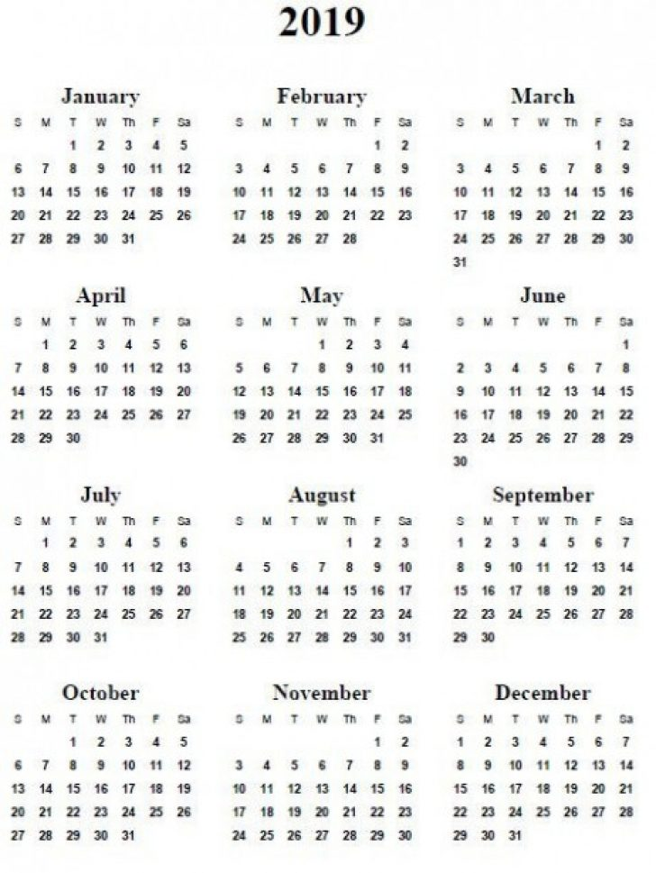 Permalink to You Will Never Believe These Bizarre Truth Of 17 Year Calendar One Page