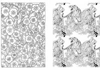 Posh Adult Coloring Book: Japanese Designs for Fun and Relaxation ..