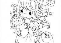 Precious Moments coloring pages on Coloring-Book