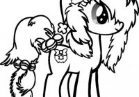 Print my little pony christmas coloring pages   Free Christmas ..