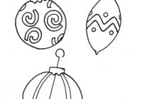 Printable Coloring Pages Of Christmas Ornaments Printable Coloring ..