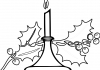Religious Christmas Card Coloring Pages With Banner Transparent TechFlourish Collections