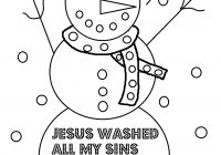 Religious Christmas Coloring Pages Jesus With Christian Unique Inside Animage Me