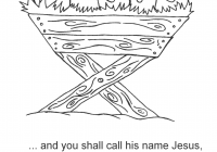Religious Christmas Coloring Pages Jesus With Collection Of Bible Download Them And Try
