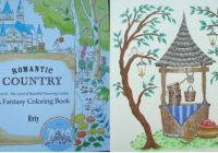 Romantic Country: A Fantasy Coloring Book – A Review   Colouring In ..
