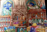 Romantic Country – The Second Tale coloring book – Arrived Cocot ..