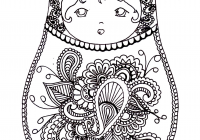 Russian Christmas Coloring Pages With Fresh Free Page