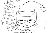 Russian Christmas Coloring Pages With Pete The Cat Saves Page Free Printable