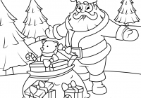 Santa Around The World Coloring Pages With Claus Presents Industri Info