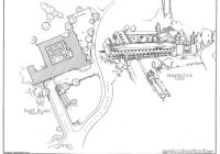 Santa Barbara Mission Coloring Page With Architectural Drawings SCHOOL California