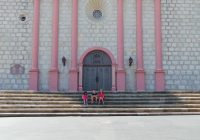 Santa Barbara Mission Coloring Page With Free Activity Sheet And Tour