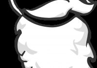 Santa Beard Coloring With Image Png Club Penguin Wiki FANDOM Powered By Wikia