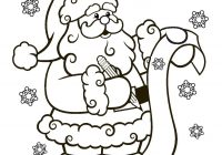 Santa Christmas List Coloring Page With PagesFree Printable Pages For Kids