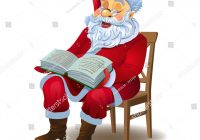 Santa Claus And Christmas Tree Coloring Pages With Holiday Living Cool