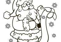Santa Claus And Rudolph Coloring Pages With Lovely Reindeer Page
