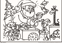 Santa Claus And Rudolph Coloring Pages With Reindeer Luxury The Red