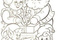 Santa Claus Christmas Coloring Pages For Kids With Families Of Mr