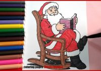 Santa Claus Christmas Coloring Pages With Printable Books