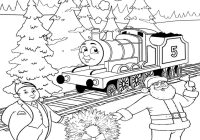 Santa Claus Coloring Games Free Online With Thomas Christmas Sheets For Children Printable Pictures