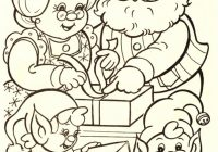 Santa Claus Coloring Page With Pages Www Org