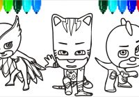 Santa Claus Coloring Page With PJ Masks Pages Colouring For Kids