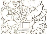Santa Claus For Coloring With Pages To Print Free Library
