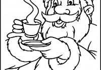 Santa Coloring Books With Pages Cocoa Pinterest